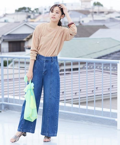 【Lee×ViS】センターシームワイドパンツ