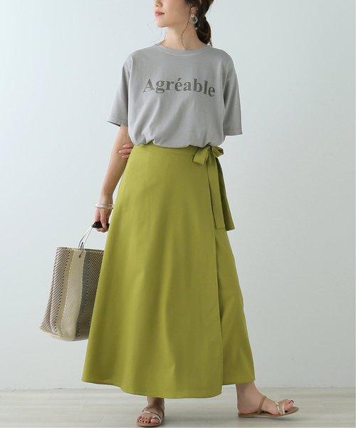 ピグメントロゴTシャツ