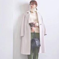 アウターを着ていてもおしゃれな大人服♡お手本のレディース冬ファッション