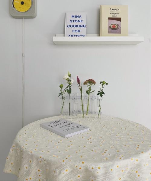 [chuclla] 【SANSeLF】flower table cloth 140 sanh9