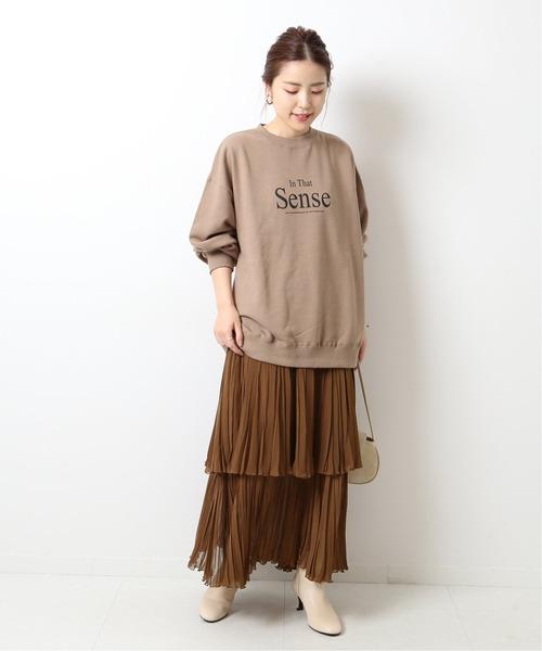 [Spick & Span] ティアードプリーツスカート◆