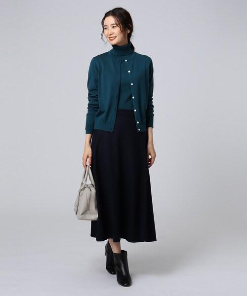 [UNTITLED] [L]ボニータミルドステッチフレアスカート