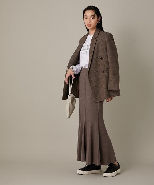 マーメイドRIBスカート