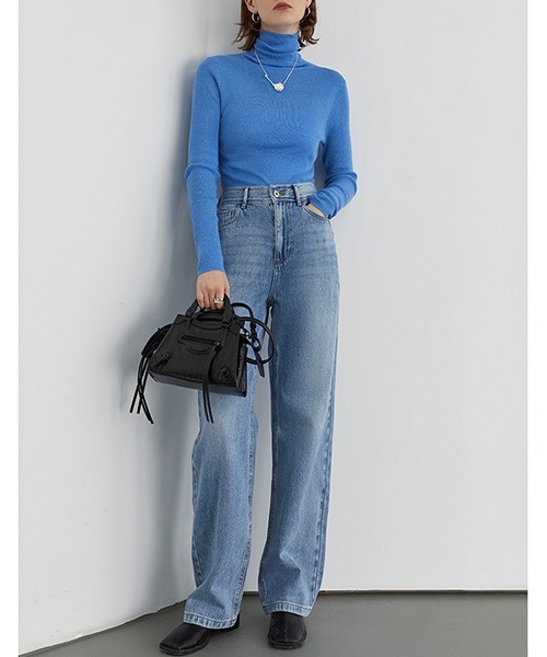 [chuclla] 【Fano Studios】【2020AW】Vintage wash straight denim pants FD20K028