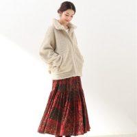 冬のきれいめコーデで大活躍☆『ロングスカート』の着こなし特集