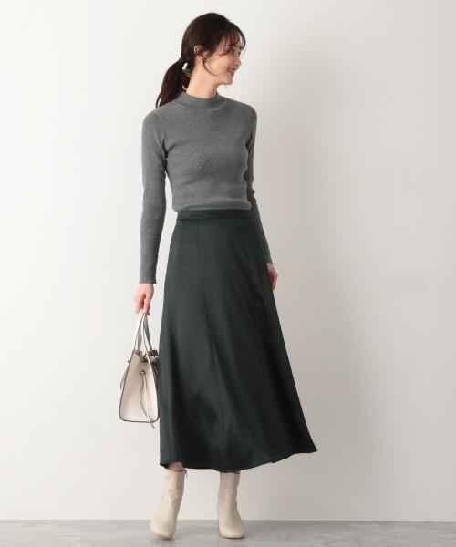 Vintageサテンスカート【MATINEE LINE】