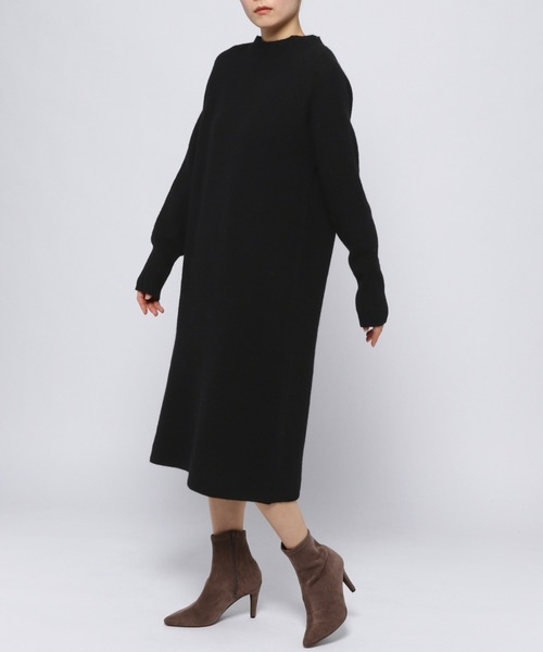 [Andemiu] 【限定】ソデリブニットワンピース918104