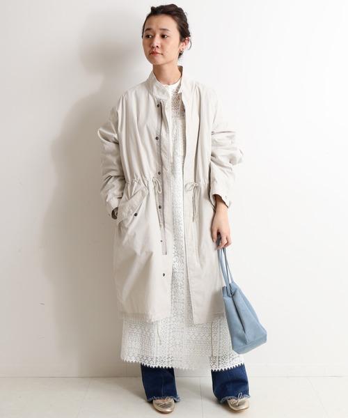 [IENA] ライナー付きモッズコート【手洗い可能】◆