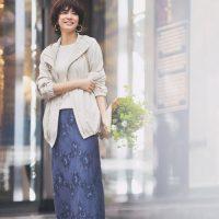40代の春コーデはマウンテンパーカーを羽織る【2021】大人女性の着こなし術