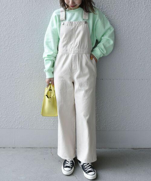 [SHIPS for women] SUNNY SPORTS:80s クルーネックスウェット