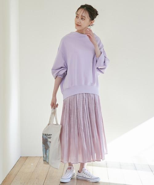 [ViS] 【WEB限定SS,Lサイズ】アソートシャイニースカート