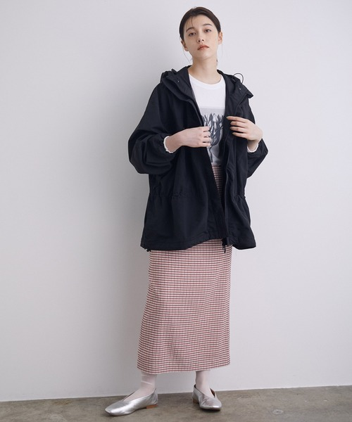 [ROPE'] 【WILD THINGS for mademoiselle】別注ナイロンマウンテンパーカー
