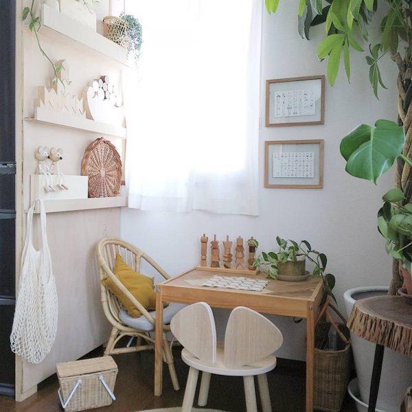 小さなカフェのような空間