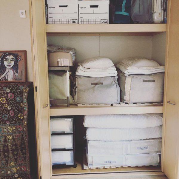 ニトリの布団収納バッグに収納する方法