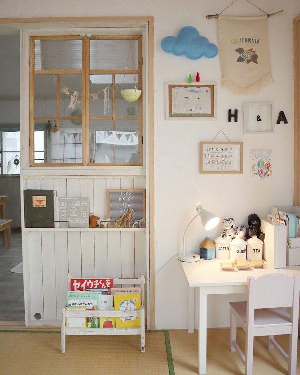 子供部屋の仕切りの簡単DIY特集7
