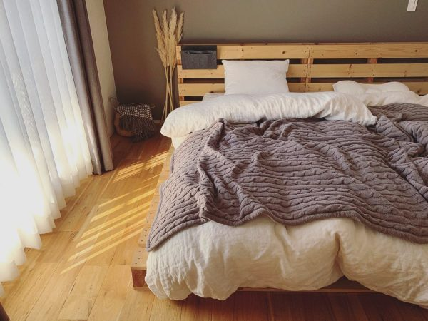 パレットベッドでおしゃれに