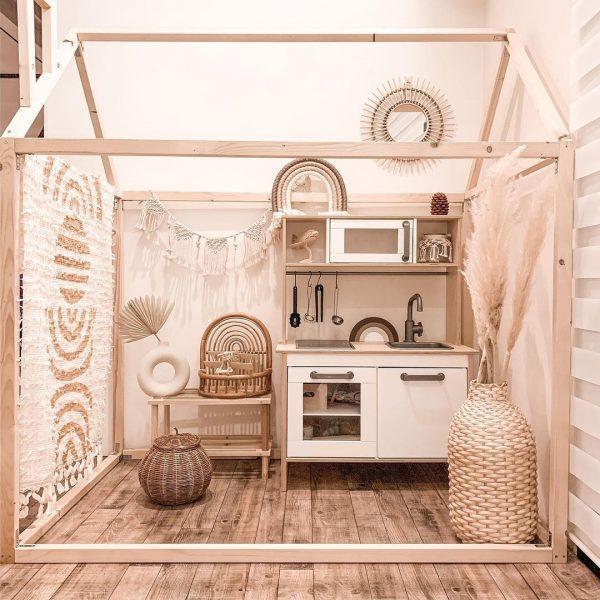 子供部屋の仕切りの簡単DIY特集14