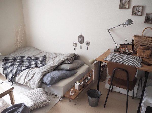 すのこマットレスを配置する寝室