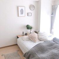 二人暮らしのベッドスペースをおしゃれにしたい!すっきり快適なインテリアづくり