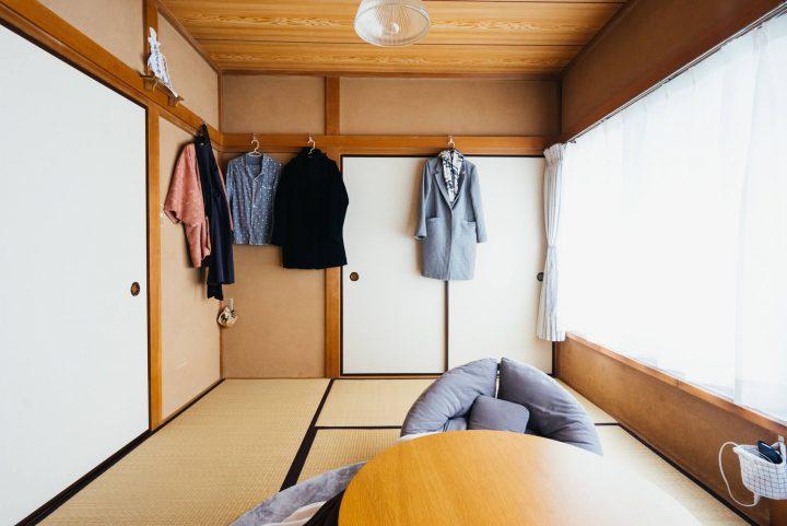 和モダンな暮らしがなじむ6畳の和室hh