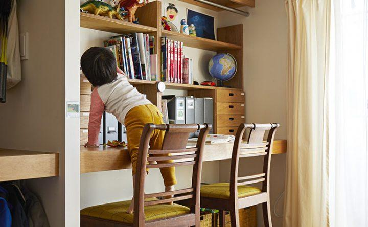 働きながら子育てができるワークスペースのある家5