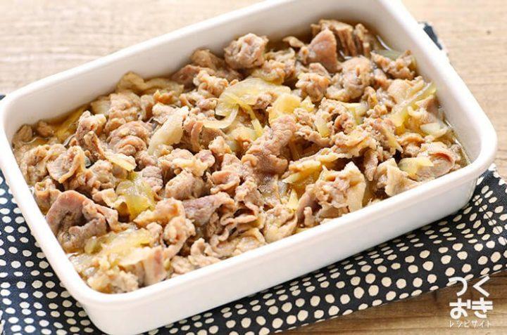 ほんのり生姜風味♪豚肉と玉ねぎのしぐれ煮
