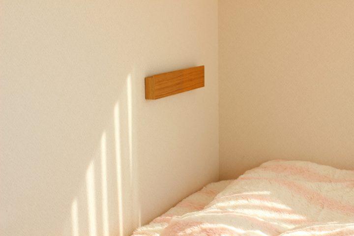無印 壁に付けられる家具・長押