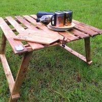 自分好みに作れる折りたたみテーブルをDIY。リモート用〜おしゃれなテーブルまで
