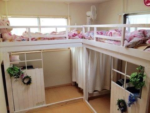 ロフト風すのこベッド