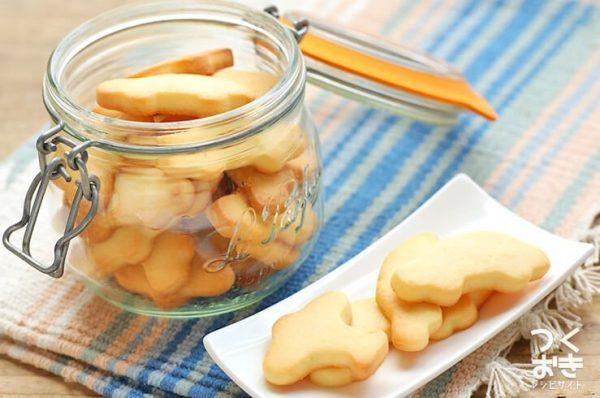 サクサクと軽い食感の塩麹クッキー
