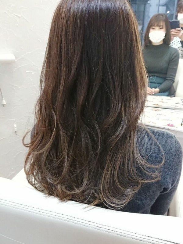 イルミナカラーを使った明るめ髪色15