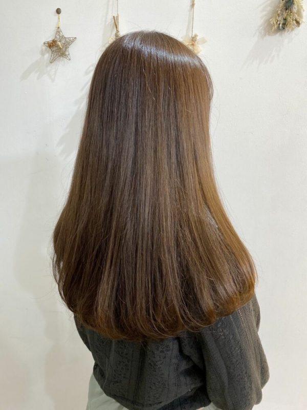 イルミナカラーを使った明るめ髪色3