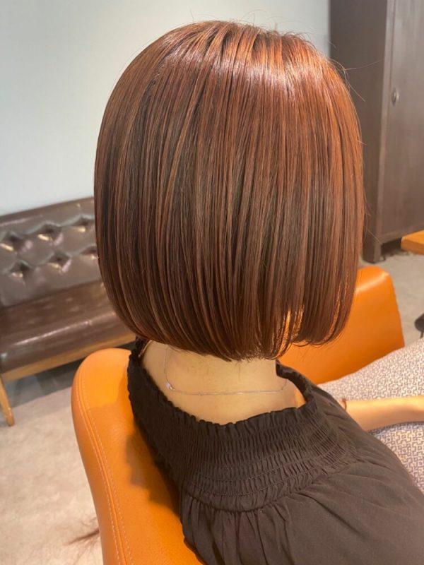 艶感♡タンバルモリのストレートヘアスタイル