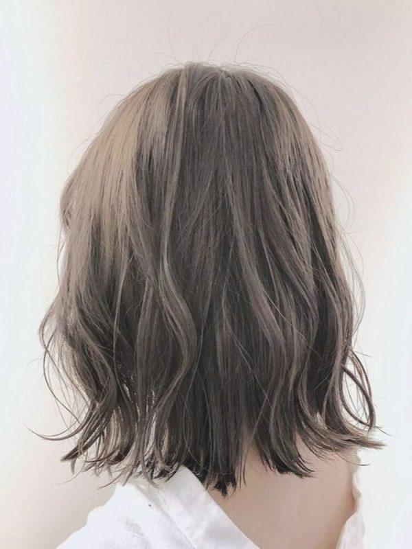 イルミナカラーを使った明るめ髪色4