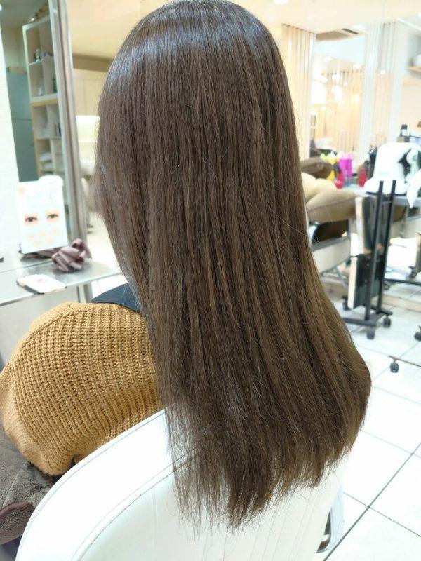 イルミナカラーを使った明るめ髪色7