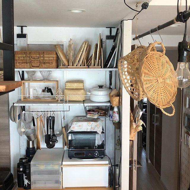 古道具キッチン収納