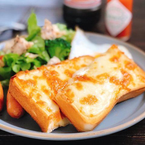 とろりと美味しいチーズトーストワンプレート