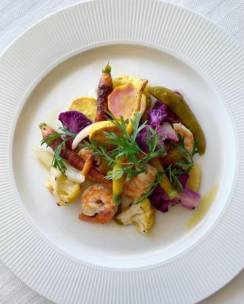 美味しいレシピ!グリル野菜とエビのマリネ