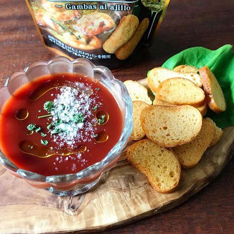 冷静トマトスープ