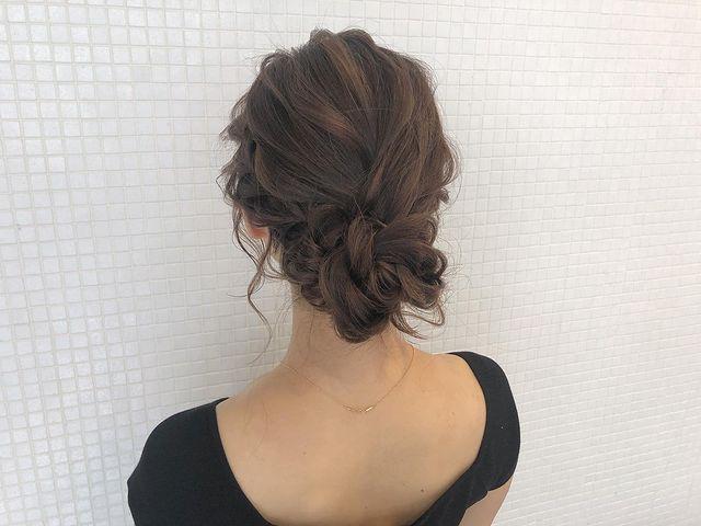 伸ばしかけの髪のまとめ方13