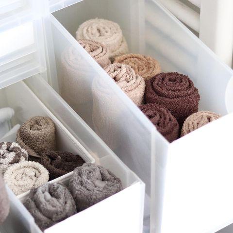 「取り出しやすいタオル」の畳み方