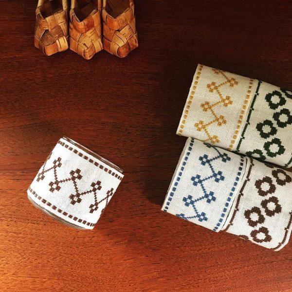 刺繍ハンドメイドキャンドルカバーのレシピ