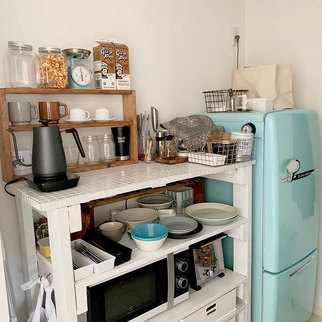 見せる収納が使いやすいキッチン