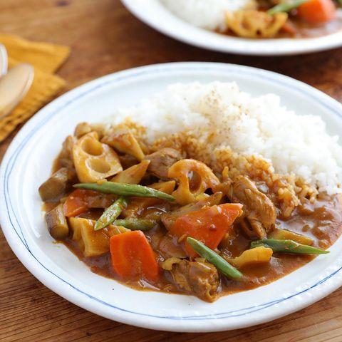 栄養満点根菜のチキンカレー