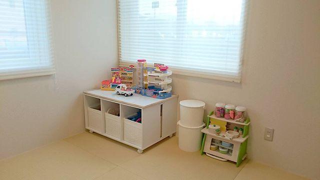 カラーボックスのおもちゃ収納4