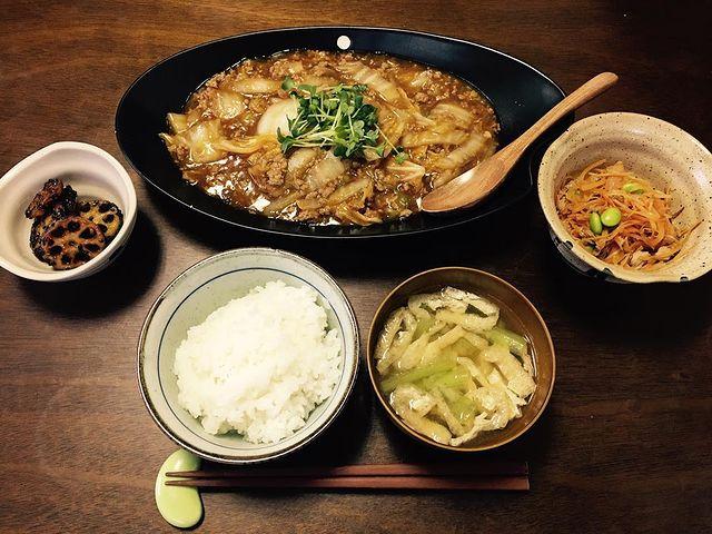 豆腐の代わりに麻婆白菜