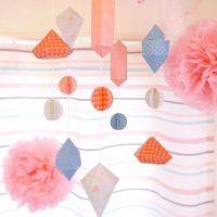 折り紙で作るおしゃれな壁飾りの作り方。大人が作る簡単&可愛いインテリア