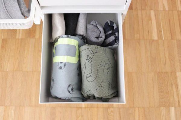 「子供パジャマ」の畳み方
