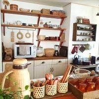 落ち着いた雰囲気が魅力的。和モダンなキッチンのおしゃれインテリア実例集