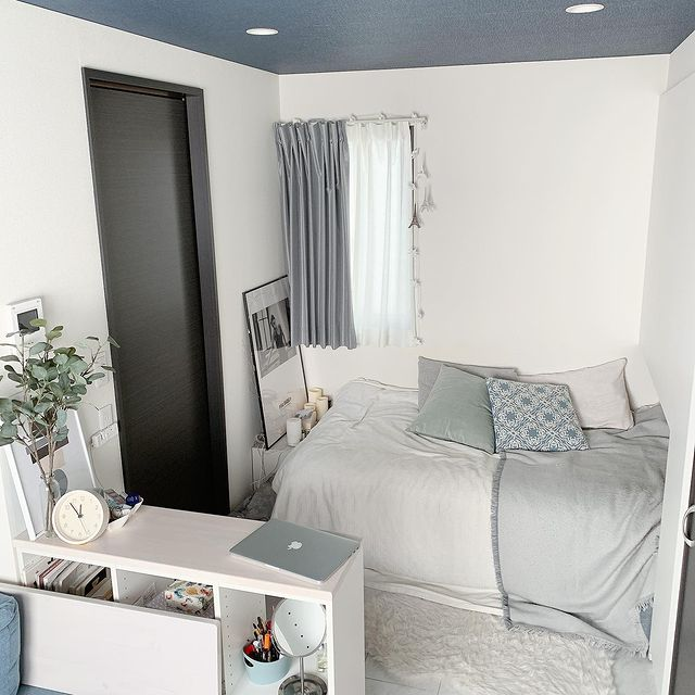 プライベート感のあるベッドスペース